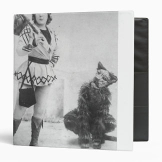 Marie Lloyd  as Dick Whittington in 1898 Binder