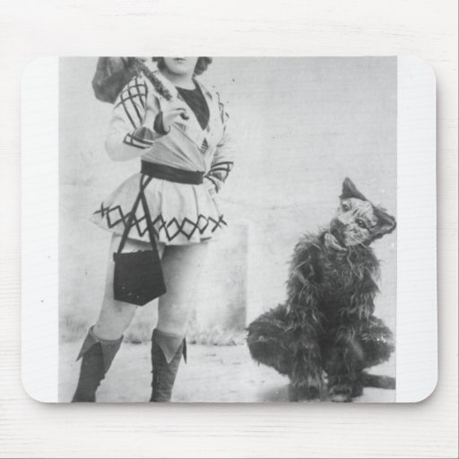 Marie Lloyd  as Dick Whittington in 1898 Mouse Pad