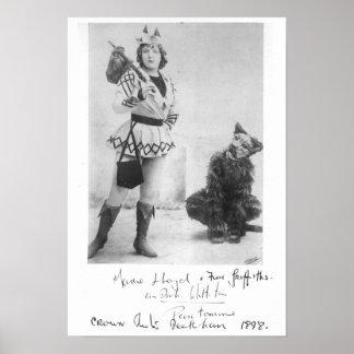 Marie Lloyd como Dick Whittington en 1898 Posters