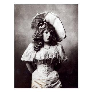Marie Lloyd Postcard