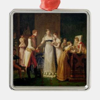 Marie-Louise Austria Bidding Farewell her Metal Ornament