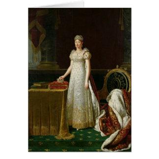 Marie-Louise  of Habsbourg Lorraine, 1814 Card