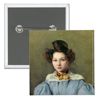 Marie Louise Sennegon, 1831 2 Inch Square Button