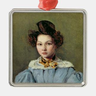 Marie Louise Sennegon, 1831 Adorno Navideño Cuadrado De Metal