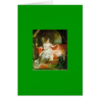 """Marie-Louise with """"The King of Rome"""" Card"""