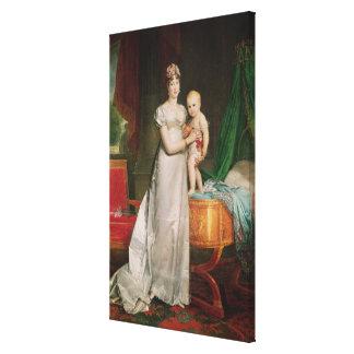 Marie Louise y el rey de Roma Impresiones De Lienzo