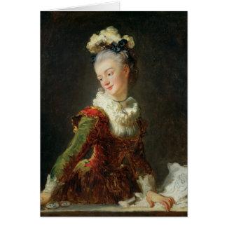 Marie-Madeleine Guimard Card