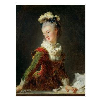 Marie-Madeleine Guimard Postcard