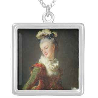 Marie-Madeleine Guimard Silver Plated Necklace