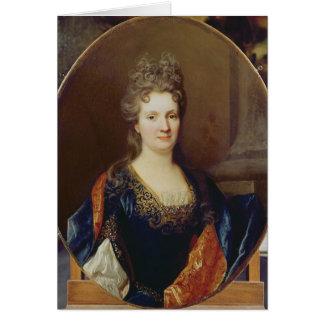 Marie Marguerite Arouet , c.1700 Card