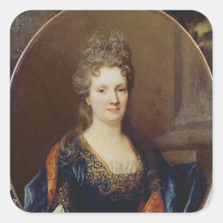 Marie Marguerite Arouet , c.1700 Square Sticker