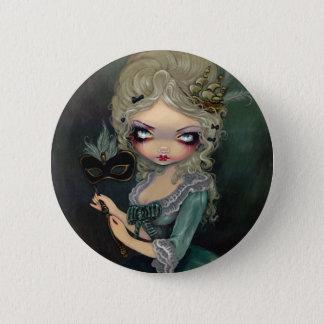 """""""Marie Masquerade"""" Button"""