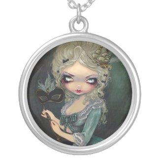 Marie Masquerade NECKLACE Antoinette Gothic Rococo necklace