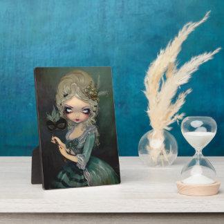 """""""Marie Masquerade"""" Plaque"""