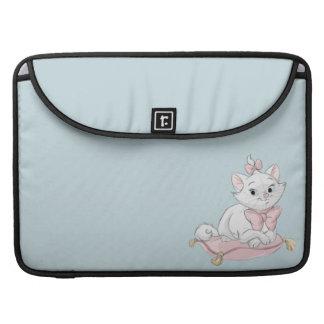 Marie on Pillow MacBook Pro Sleeve