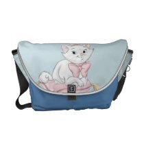 Marie on Pillow Messenger Bag