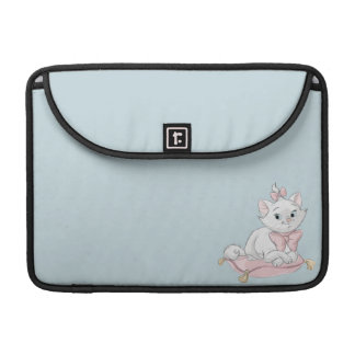 Marie on Pillow Sleeve For MacBook Pro