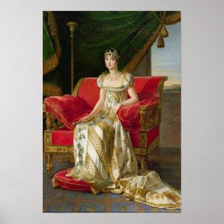 Marie Pauline Bonaparte  Princess Borghese, 1808 Poster