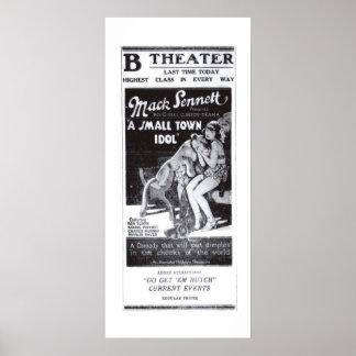 Marie Prevost 1921 vintage movie ad poster