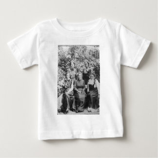 Marie Sklodowska Curie with her Four Students Baby T-Shirt