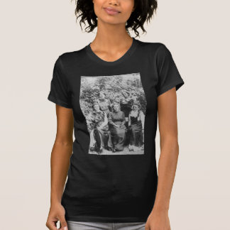 Marie Sklodowska Curie with her Four Students T-Shirt