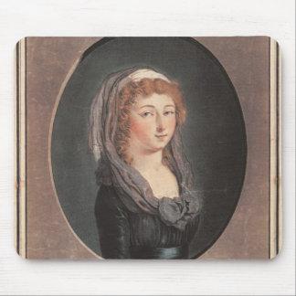 Marie-Teresa-Charlotte de Francia envejecida dieci Tapete De Ratón