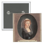 Marie-Therese-Charlotte de France  aged seventeen Button