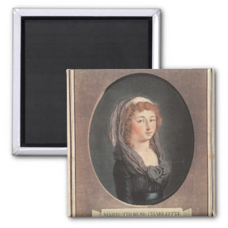 Marie-Therese-Charlotte de France  aged seventeen Magnet