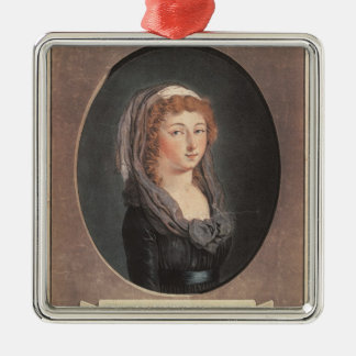 Marie-Therese-Charlotte de France  aged seventeen Metal Ornament