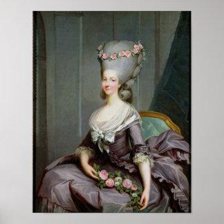Marie-Therese de Savoie-Carignan  Princess Poster