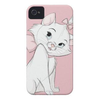 Marie tímido iPhone 4 Case-Mate cárcasas