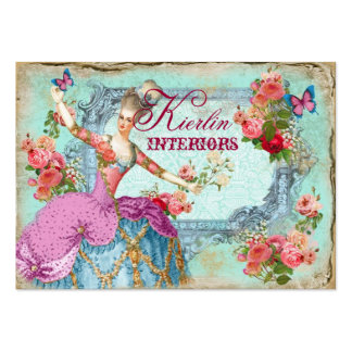 Marie Vintage Butterfly Business Card
