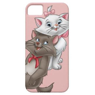 Marie y Berlioz iPhone 5 Fundas