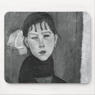 Marie, young woman of the people mouse pad