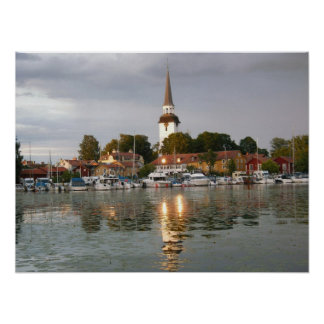 Mariefred, Suecia Póster
