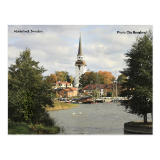 Mariefred, Sweden, Photo Ola Be... Postcard