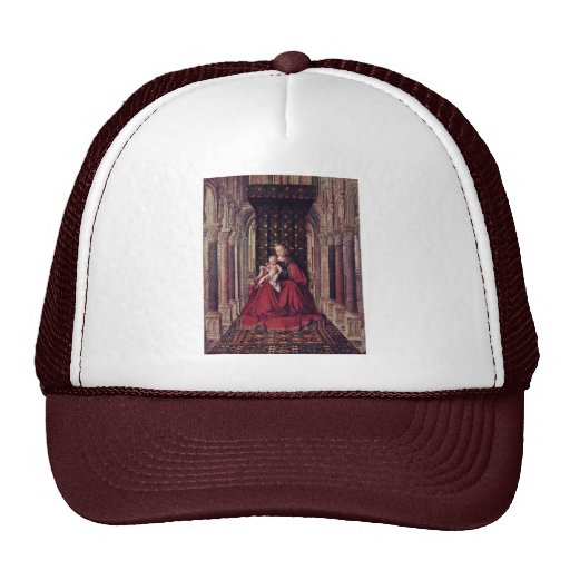 Marienaltar Dresden Triptych Central Panel: Mary W Trucker Hat
