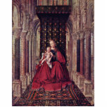 Marienaltar Dresden Triptych Central Panel: Mary W Cut Outs