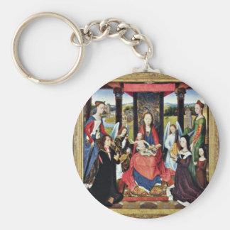Marienaltar Sir John Donne Of Kidwelly Key Chains