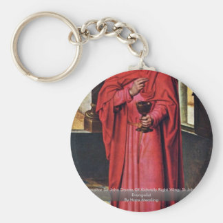 Marienaltar Sir John Donne Of Kidwelly Right Wing Keychain