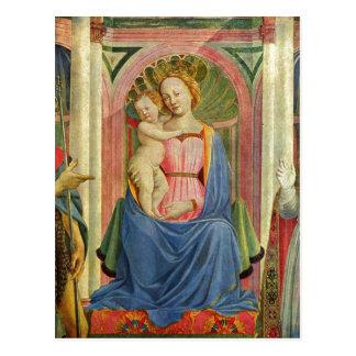 Marienaltar, Szene: Maria mit Kind und Heiligen, D Postcard