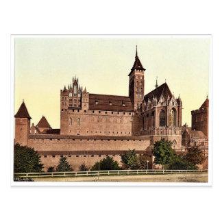 Marienburg, east side, Prussia, Germany (i.e., Mal Postcard