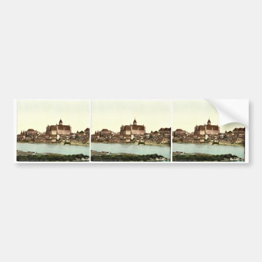 Marienburg, southwest side, Prussia, Germany (i.e. Bumper Stickers