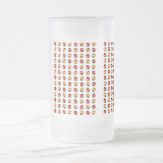 Marienkäfer Invasion Frosted Glass Beer Mug