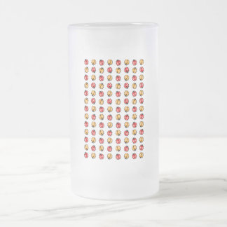 Marienkäfer Invasion 16 Oz Frosted Glass Beer Mug