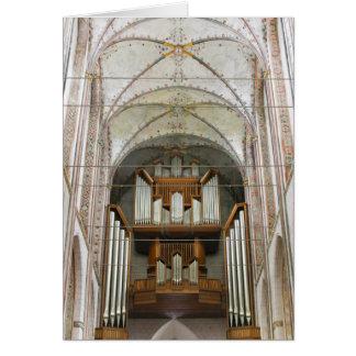 Marienkirche Lübeck Greeting Cards