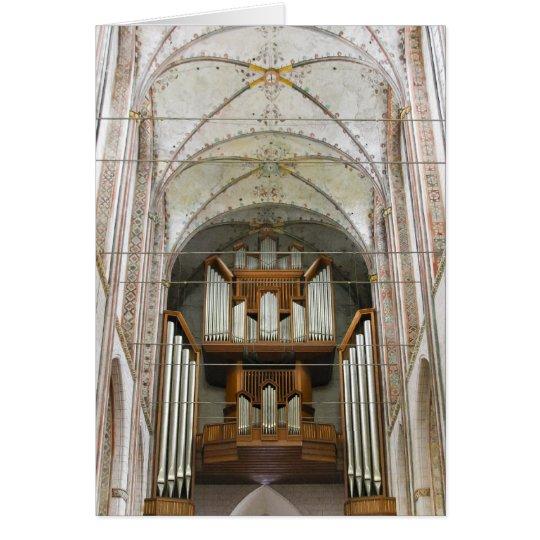 Marienkirche, Lübeck Card