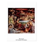 Marientod By Domenico Beccafumi Postcard