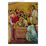 Marientod By Giotto Di Bondone Greeting Cards