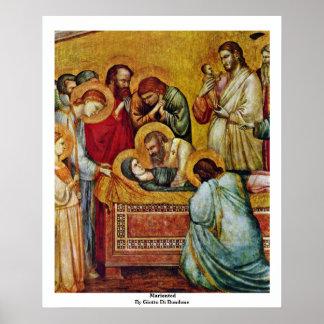 Marientod de Giotto Di Bondone Posters